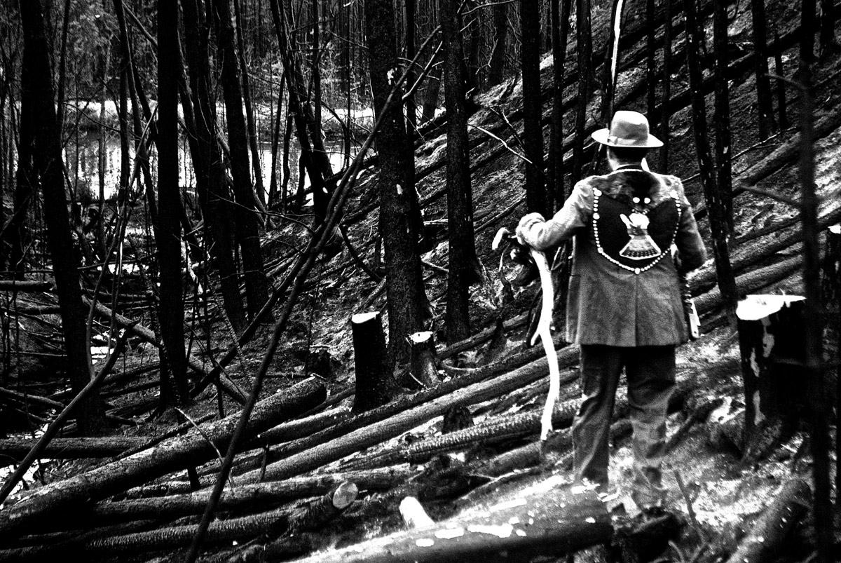 "Joseph Tisiga ""Passage through the burn"" 2013, Digital photograph, Dimensions variable"