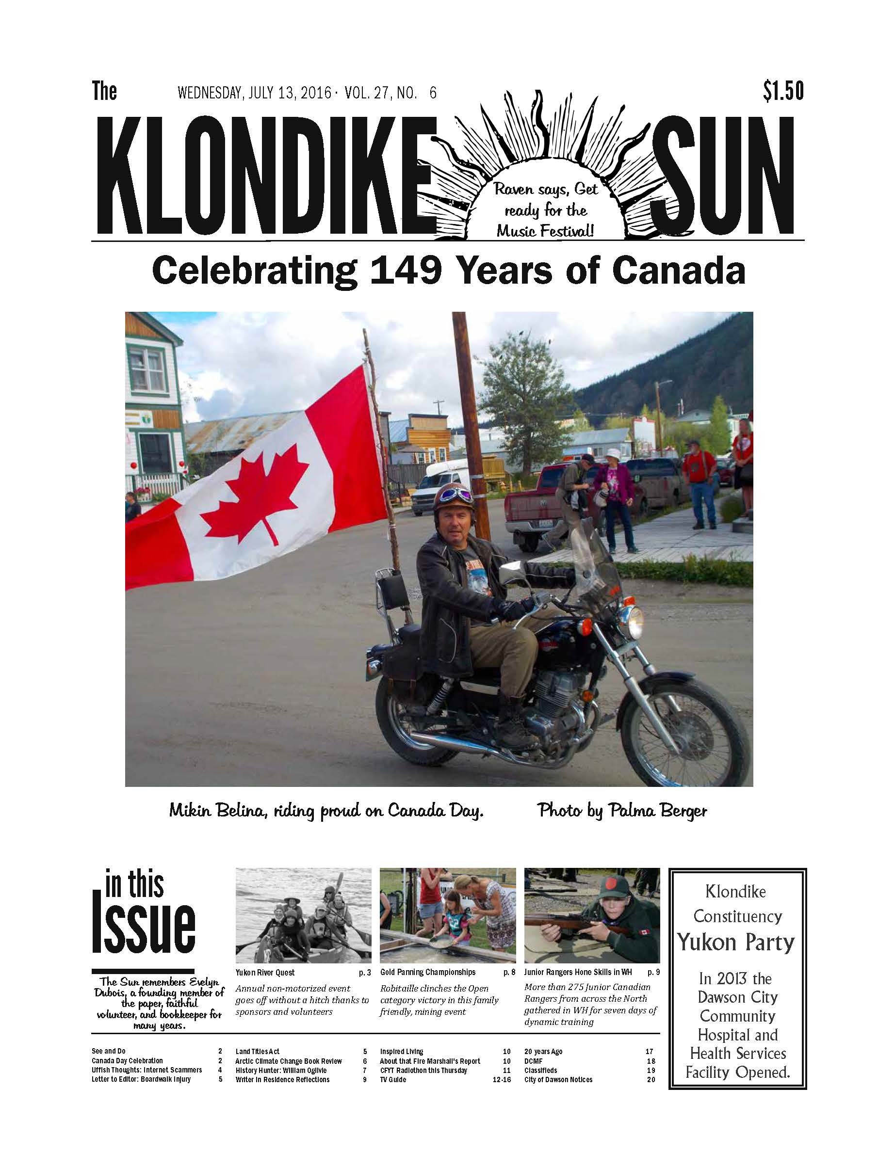 front page July 13 2016