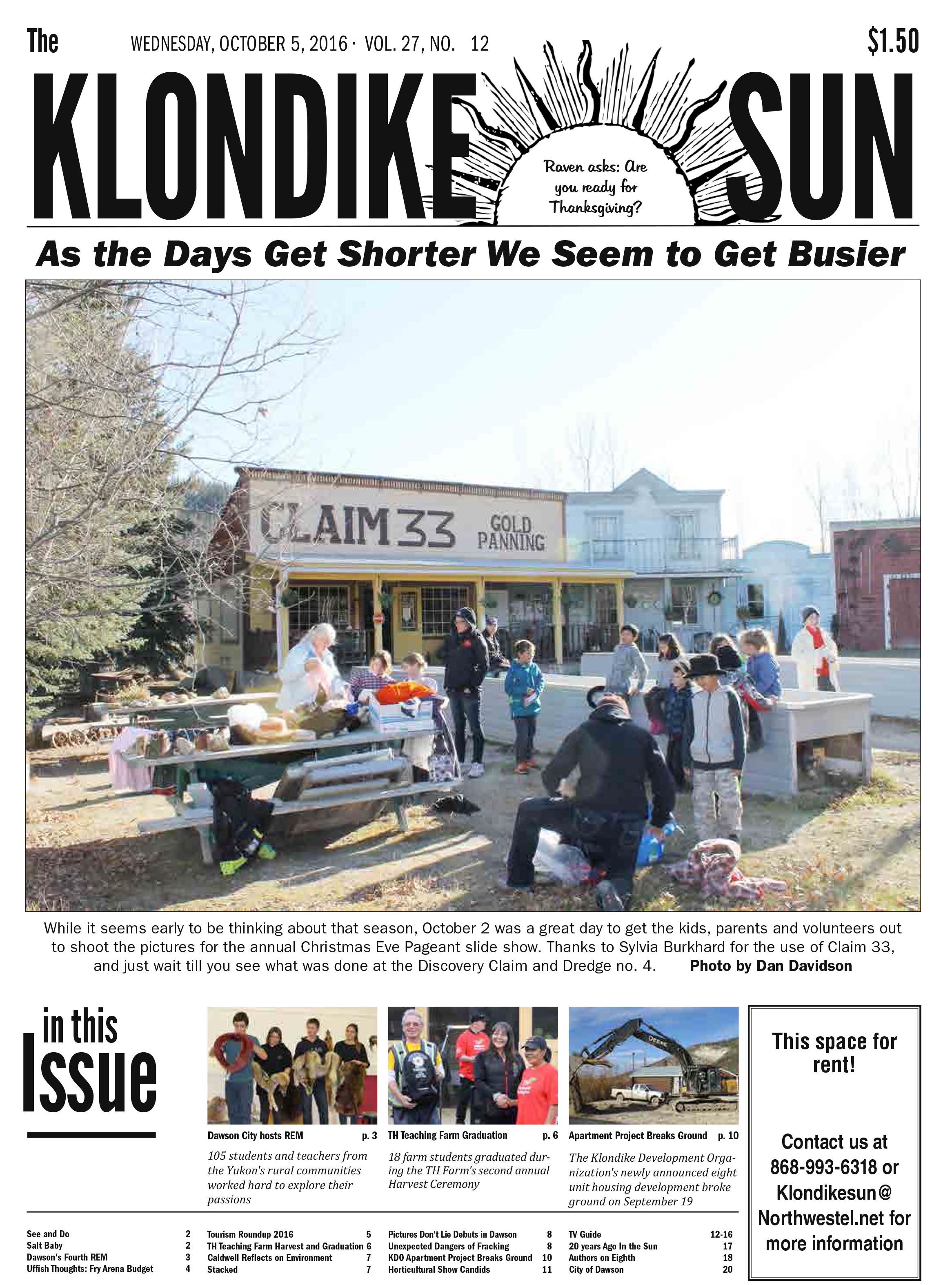 Klondike Sun October 5 2016
