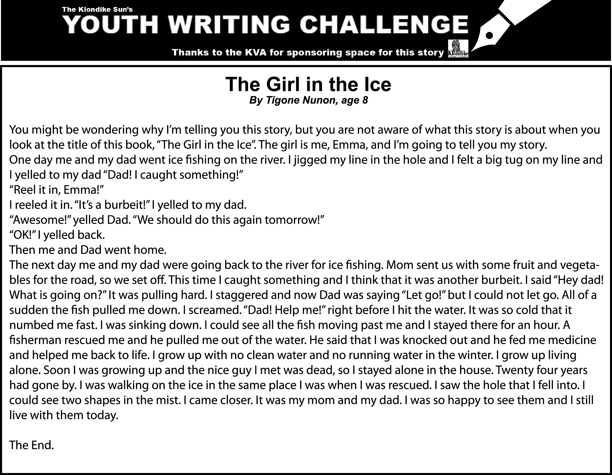 The Giril in the ice - YWC